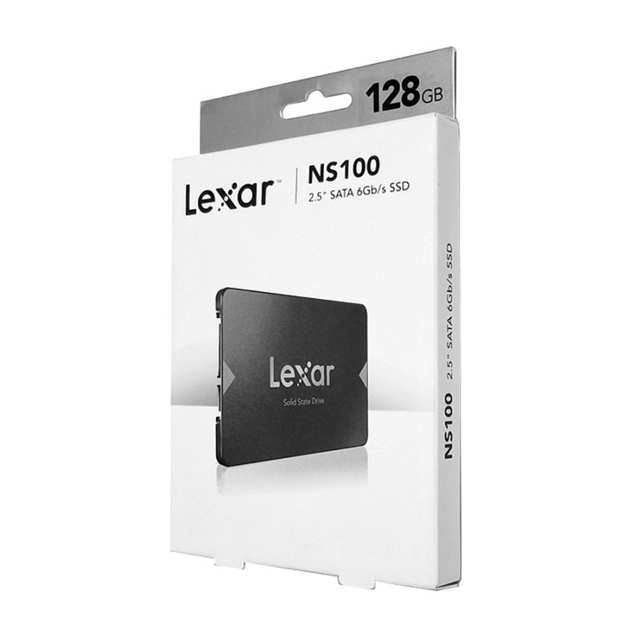 SSD Lexar NS100 2.5-Inch SATA III 128GB LNS100-128RB - preview 176